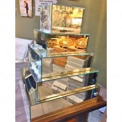 Ayna Vazo Pasta Yükseltici