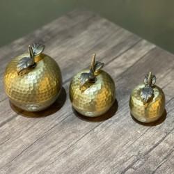 Metal Üçlü Elma
