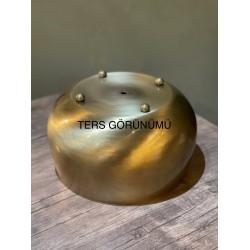 Gold Metal Orkide Saksısı