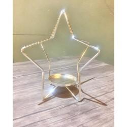 Mini Metal Yıldız Mumluk
