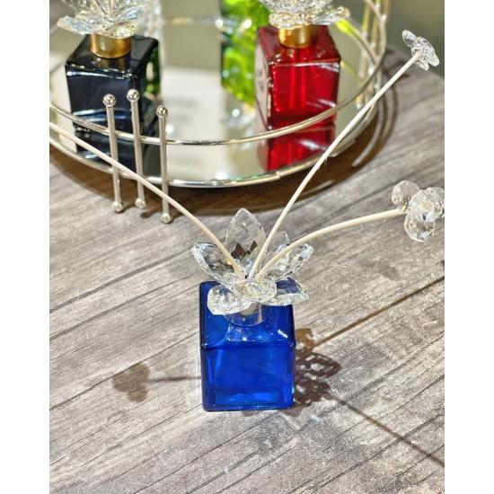 Boş Dekoratif Kristal Cam Koku Şişesi