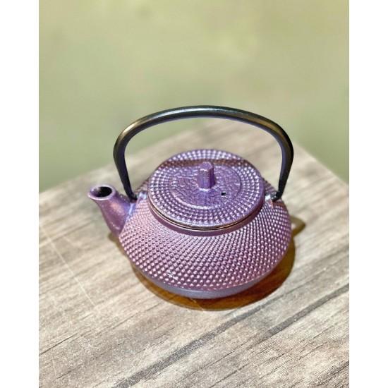 Renkli Japon Döküm Demlik Çaydanlık